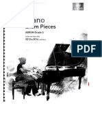 Piano Exam Pieces g - 5 2013-2014