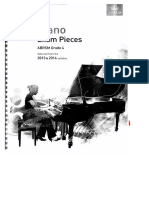 Piano Exam Pieces g - 4 2013-2014