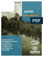 SIGRID Catalogo Region San Martin