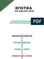 Pengantar Umum Statistika Pddkn