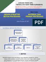 II. Material Dan Prinsip Prategang