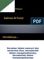 Salman Al Farisi Memburu Hidayah