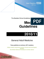 NHS Guidelines