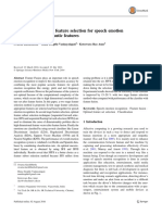 An Optimal Two Stage Feature Selection for Speech Emotion Recognition Using Acoustic Features