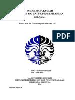Tugas PJ&SIG Lingkungan_AhmadZikrullah_Prof. Sri