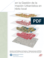 SIG en La Gestión de La Informcion Urbanistica en El Ambito Local