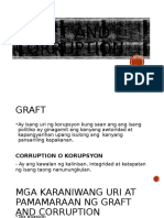 Graft and Corruption