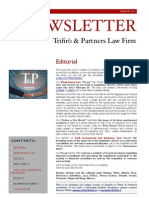 Newsletter T&P N°33 Eng