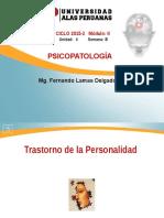 Psicopatología Semana 8