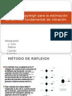 Metodo de Rayleigh