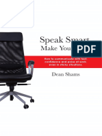 Speak Smart Book First Chapter Extract