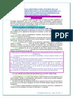 01.Desarrollo Historico Del Estudio de Las Diferencias Individuales I.