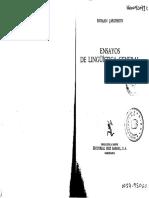 Jakobson, R. Linguística y Poética.