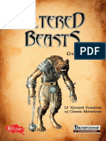 Altered Beasts Gnolls Vol I (PF5e)