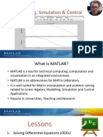 Modelling and Simulation in MATLAB - Overview.pdf