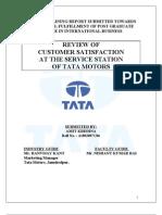 TATA MOTER ,Customer satisfaction at service station