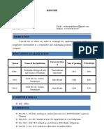 Sudarsanan Resume (1)