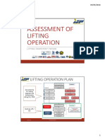 A.assessment of Lifting Operation