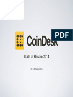 Coin Desk State of Bit Coin