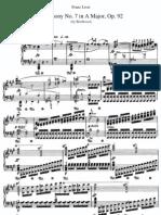 Beethoven Symphony No.7 in a Major