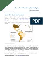 Zika - Actualización Epidemiológica 06 10 16