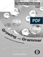 TH Growing With Grammar 8
