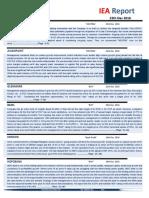 IEA Report 23rd December