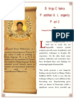 BCPAndLongevityPart-2bySampathKumarBW