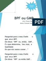 BPF Ou GMP Automatico