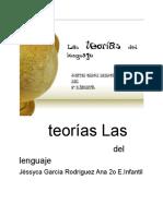 Las Teorías Del Lenguaje.