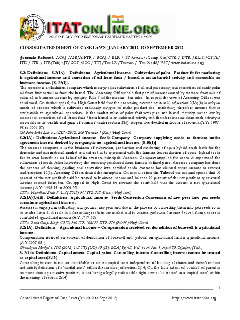 consolidated_digest_of_case_laws_jan_2012_sept_2012 pdf