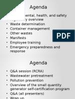 1. Regulatory Overview & Waste Determination