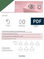 Pandora Size Guide