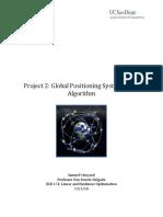project 2- gps algorithm