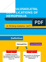 MUSCULOSKELETAL COMPLICATIONS OF HAEMOPHILIA - dr Bintang  SpOT.pptx
