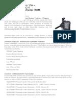 DSG Transmission Repairs - TCM Faults Fixed _ SINSPEED