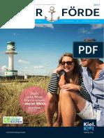 Gastgeberverzeichnis Kieler Förde 2017