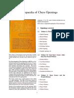 Encyclopedia Of Chess Opening Pdf