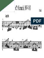 Ditado Melodico Bach 6 Grau Correçao
