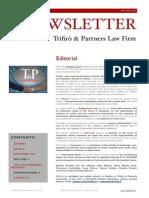 Newsletter T&P N°32 ENG