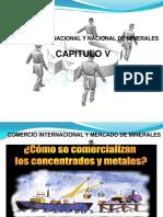 Comercio Internacional y Nacional de Minerales Cap. v (a)