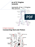 Design of IC Engine and Worm & Worm Gear
