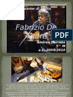 PresentazionePowerPoint DeAndrè