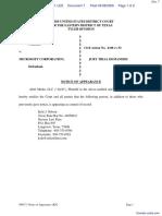 Aloft Media LLC v. Microsoft Corporation - Document No. 7