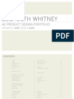 A2 Product Design Portfolio