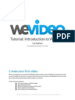 Tutorial Introduction to We Video 2016