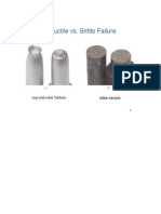 Brittle & Ductile Failure of Materials