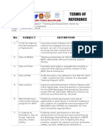 Benchmarking - TERMS of Reference.docx