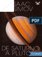De Saturno a Pluton - Isaac Asimov