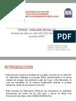 Analisis de Falla Caño